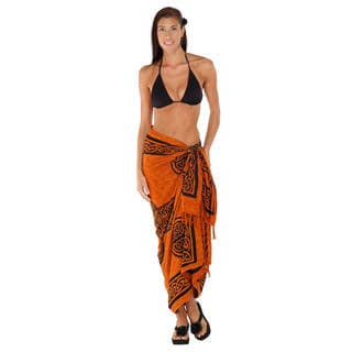 Handmade 1 World Sarongs Women's Celtic Cross Sarong (Indonesia)