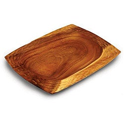 Natural Acacia Wood Serving Tray (Thailand)