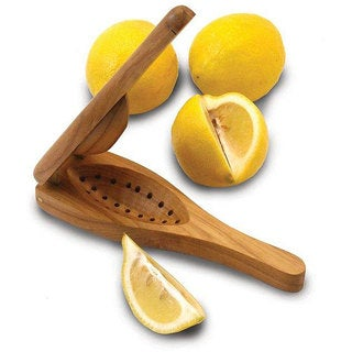 Handmade EcoTeak Wood Lemon Squeezer (Thailand)