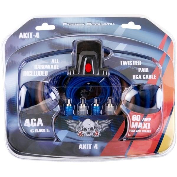 Power Acoustik AKIT-4 Amplifier Wiring KIt