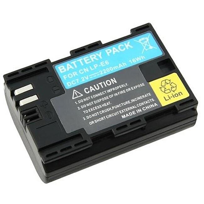 INSTEN Canon EOS 5D Mark II and 7D LP-E6 Li-ion Battery