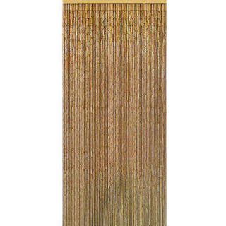 Handmade Natural Bamboo Beaded Curtain (Vietnam)