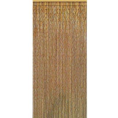 Handmade Natural Bamboo Beaded Curtain (Vietnam) (color),...
