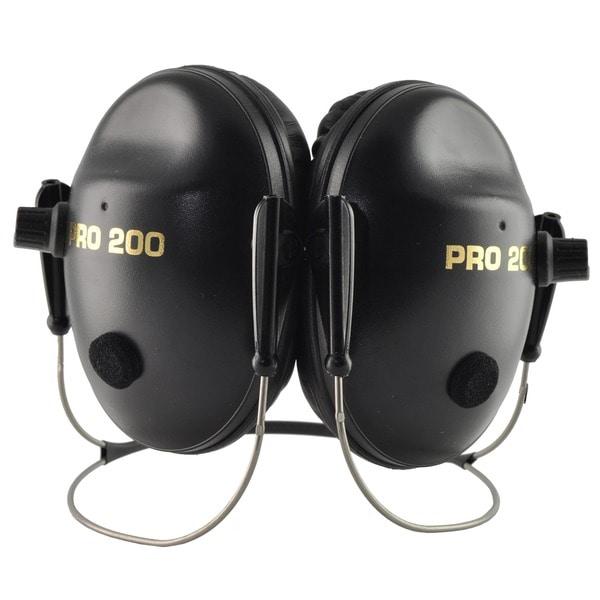 Pro 200 NRR 19 Black Behind-the-head Earmuffs