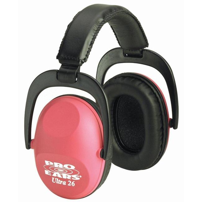 Pro Ears Ultra NRR 26 Pink Ear Muffs