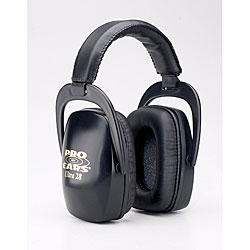 Pro Ears Ultra NRR 28 Black Lightweight Ear Muffs for Shooting - Thumbnail 0