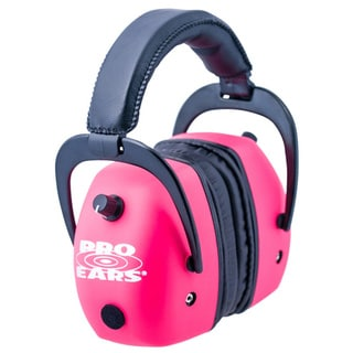 Pro Ears Gold Shooting Ear Muff Pink