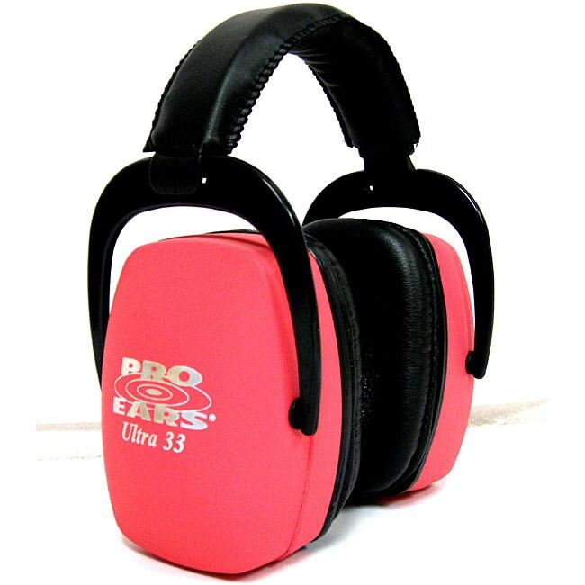 Pro Ears Ultra NRR 33 Pink Ear Muffs