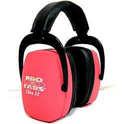 Pro Ears Ultra NRR 33 Pink Ear Muffs - Thumbnail 0