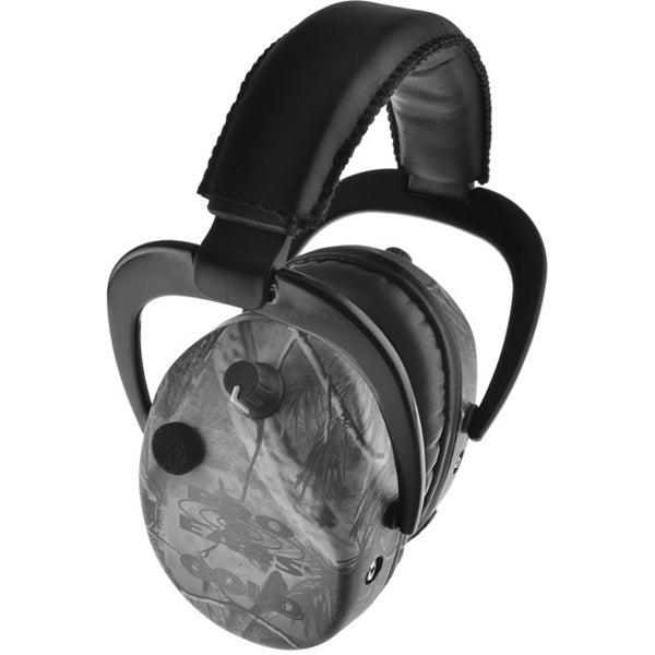 Stalker Gold NRR 25 Real Tree APG Hearing Protection Headphones