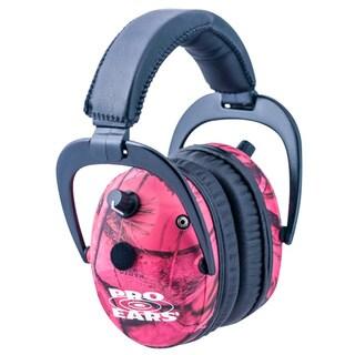 Predator Gold NRR 26 RealTree Pink Camo Earmuffs
