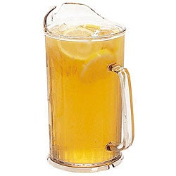 Cambro 60-oz Clear Pitcher with Ice Lip