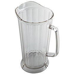 Cambro 64-oz Clear Proof Drip Pitcher