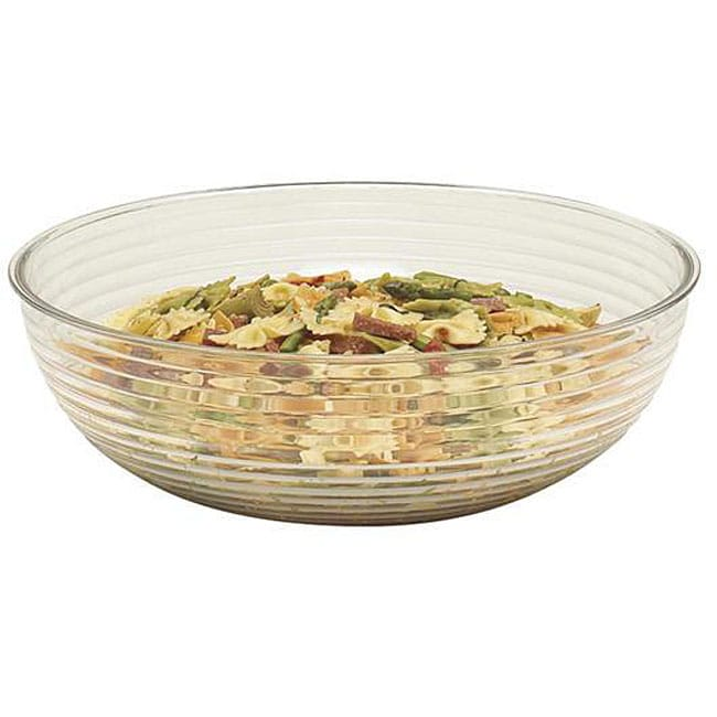 Cambro 6-in Clear Ribbed Salad Bowl