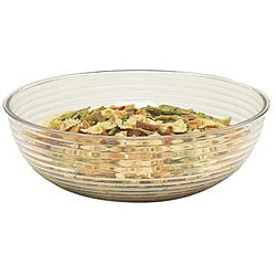 Cambro 10-in Clear Ribbed Salad Bowl