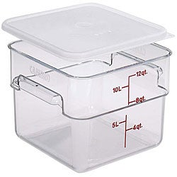 Cambro 12-quart Clear Square Container