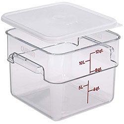 Cambro 12-quart Clear Square Container