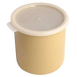Cambro 1.2-quart Beige Crock with Lid