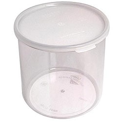 Cambro 2.7-quart Clear Lidded Crock