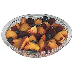 Cambro 6-in Clear Pebbled Bowl