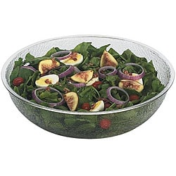 Cambro 12-in Clear Pebbled Bowl