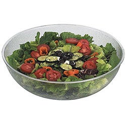 Cambro 15-in Clear Pebbled Bowl