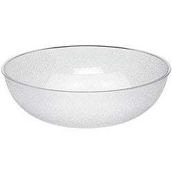 Cambro 18-in Clear Pebbled Bowl