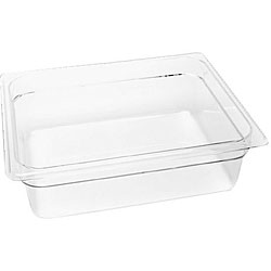 Cambro 4-in Clear Half Pan