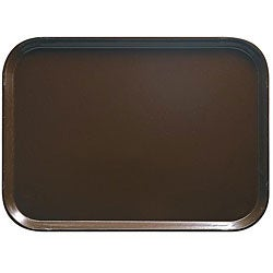 Cambro 12x16-in Brown Fast Food Trays (Case of 24)