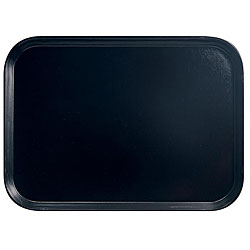 Cambro 14x18-in Black Fast Food Trays (Pack of 12)