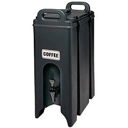 Cambro 4.75-gallon Black Camtainer
