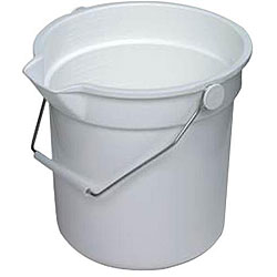 Continental Manufacturing 14-quart Grey Plastic Bucket