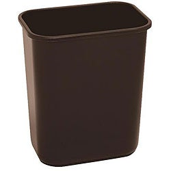 Continental Manufacturing Company 13.625-quart Brown Wastebasket