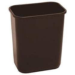 Continental Manufacturing Company 28.125-quart Brown Wastebasket