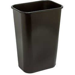 Continental Manufacturing 41.25-quart Brown Wastebasket