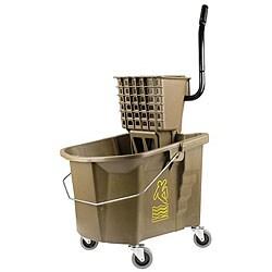 Continental Manufacturing 26-quart Bronze Mop Bucket/ Wringer