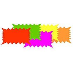 Enterprises 10 x 6 Neon Starcards (Case of 30)