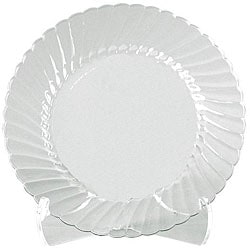 WNA Comet West 6-inch Clear Classicware Plates (Case of 180)