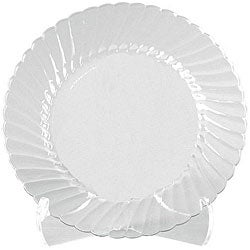 WNA Comet West 9-inch Clear Classicware Plates (Case of 180)