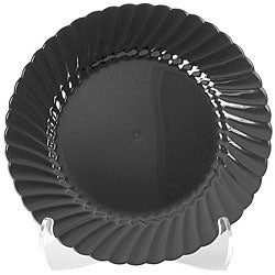 WNA Comet West 7.5-inch Black Classicware Plates (Case of 180)