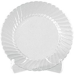 WNA Comet 10.5-in Clear Classicware Plates (Case of 144)