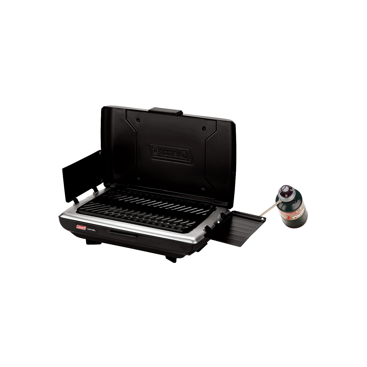 Coleman Embossed-steel Propane Camp Grill with Porcelain-coated Grate