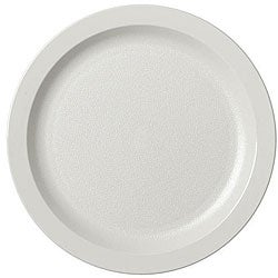 Cambro 9-in White Plates (Case of 48)