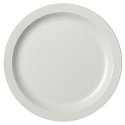 Cambro 5.5-in White Narrow Rim Plates