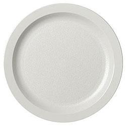 Cambro 5.5-in White Narrow Rim Plates