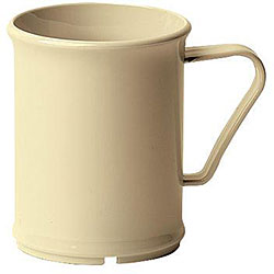 Cambro 9.6-oz Beige Mugs (Case of 48)