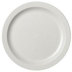 Cambro 8.25-in White Plates (Case of 48)