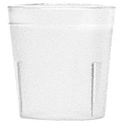 Cambro 9-oz Clear Tumblers (Case of 72)