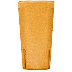 Cambro 16-oz Amber Tumblers (Case of 72)
