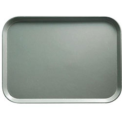 Cambro Pearl Gray High-Impact Fast Food Trays (Case of 24)